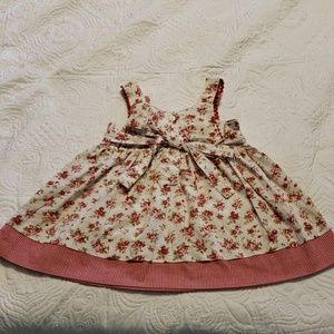 Girl cotton floral dress